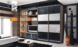 Шкафы-купе в гостиную