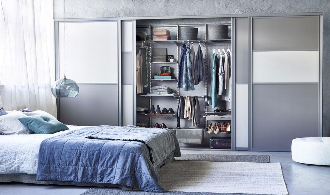 Наполнение для шкафов-купе в спальню